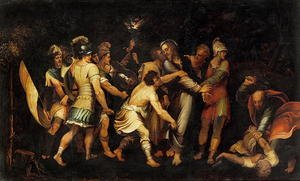 Reproduction oil paintings - Luis de Vargas - The Betrayal of Christ