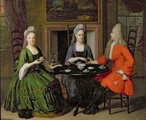 Famous paintings of Tea: A Tea Party