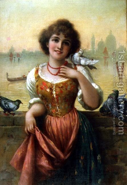 Pets by Horace Vernet - Reproduction Oil Painting