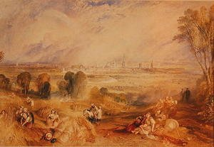Reproduction oil paintings - Turner - Oxford from North Hinksey
