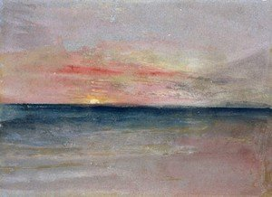 Reproduction oil paintings - Turner - Sunset