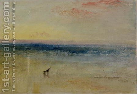 Turner: Dawn after the Wreck, c.1841 - reproduction oil painting