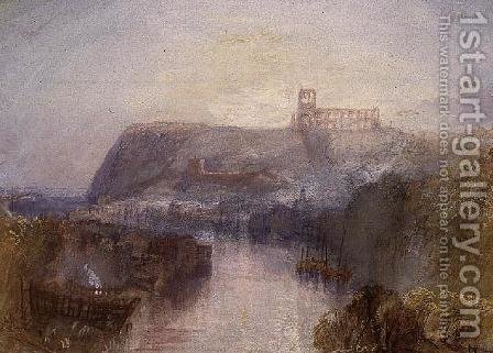 Turner: Whitby 2 - reproduction oil painting