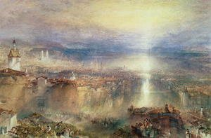 Reproduction oil paintings - Turner - Zurich