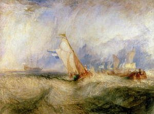 Reproduction oil paintings - Turner - Van Tromp Going About to Please His Masters - Ships a Sea Getting a Good Wetting, 1844