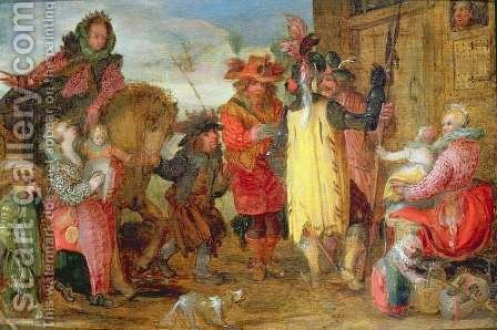 Jeanne de Flandres 1472-1545-9 going to deliver prisoners