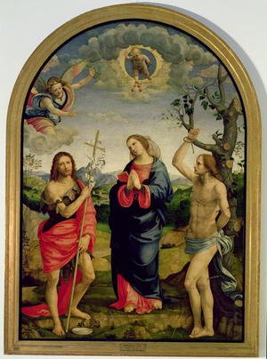 Timoteo Viti reproductions - The Virgin with Saints Sebastian and John the Baptist