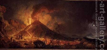 Pierre-Jacques Volaire: The Eruption of Vesuvius - reproduction oil painting