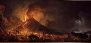 Reproduction oil paintings - Pierre-Jacques Volaire - The Eruption of Vesuvius