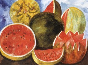 Reproduction oil paintings - Frida Kahlo - Viva la Vida, 1954