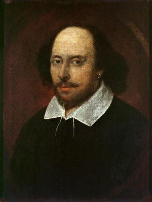 Portrait of William Shakespeare 1564-1616 c.1610