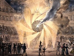 Famous paintings of Fireworks: Fireworks