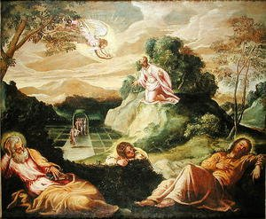 Mannerism painting reproductions: The Agony in the Garden