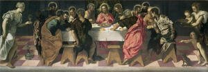 Mannerism painting reproductions: The Last Supper 3