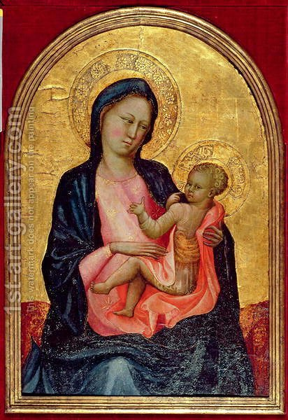 Madonna of Humility, c.1410 by Giovanni Francesco - Reproduction Oil Painting