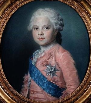 Portrait of Louis of France 1755-1824 Count of Provence and future King Louis XVIII