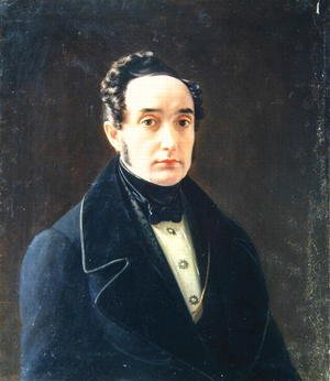 Portrait of the author Ivan Panayev 1812-62