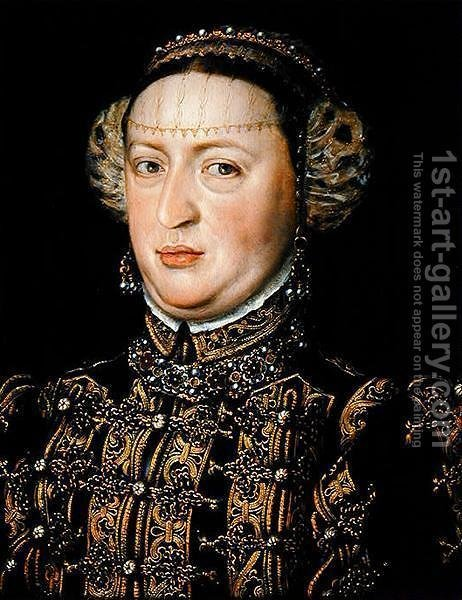 Huge version of Catherine of Austria, Queen of Portugal 1507-78
