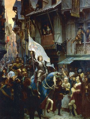 The Entrance of Joan of Arc 1412-31 into Orleans on 8th May 1429