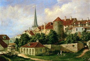 A View of Tallinn with Hattorpe Tower