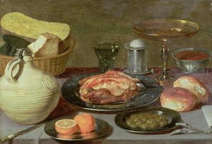 Famous paintings of Cheese : Still Life 2