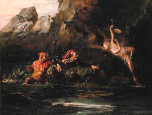 Famous paintings of Fairies: The Tempest