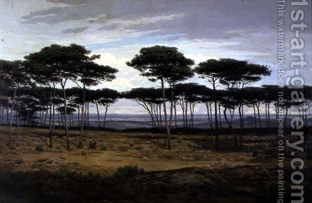 The Pines of Pledeliac by Alexandre Sege - Reproduction Oil Painting