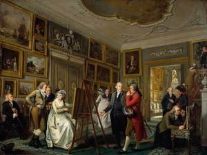 Neo-Classical painting reproductions: The Art Gallery of Jan Gildemeester 1794-95