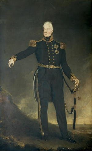 Neo-Classical painting reproductions: King William IV
