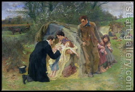 The Good Samaritan, 1899 by William Small - Reproduction Oil Painting