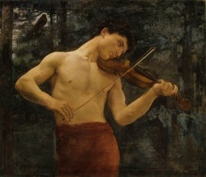 Realism painting reproductions: Orpheus 1894