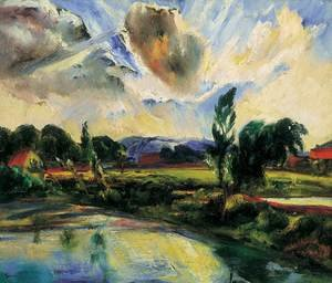 Expressionism painting reproductions: After the Storm After the Rain 1927