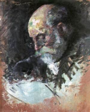 Portrait of the Artists Grandfather 1895