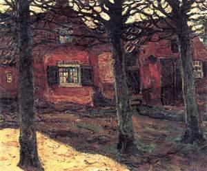 Street in Holland 1902