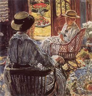 On the Terrace 1916