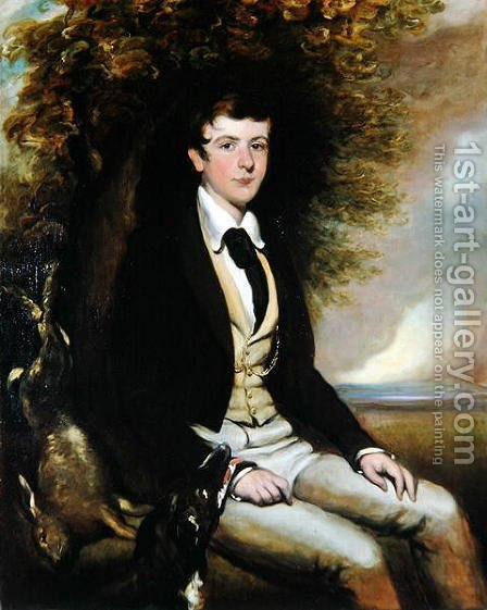 Lord Edward Fitzalan Howard, 1839 by H. Smith - Reproduction Oil Painting