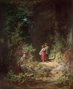 Lovers in a Wood, c.1860