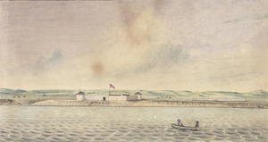 Isaac Sprague reproductions - Fort Union, Missouri, 1843