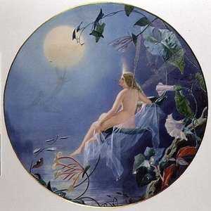 Famous paintings of Fairies: The Dew Maiden