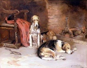 By the Fireside, 1893