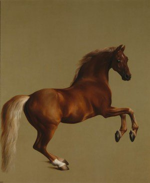 Famous paintings of Horses & Horse Riding: Whistlejacket, 1762