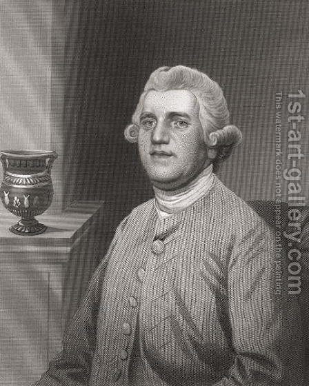 Josiah Wedgwood by (after) Stubbs, George - Reproduction Oil Painting