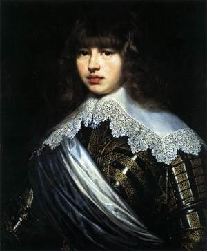 Portrait of Prince Waldemar Christian of Denmark 1603-47