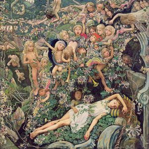 Famous paintings of Fairies: A Fairy Tale