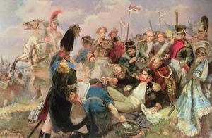 Reproduction oil paintings - Anonymous Artist - Battle of Borodino, 7th September 1812