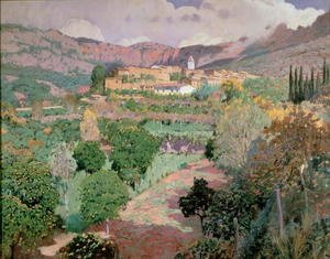 Reproduction oil paintings - Santiago Rusinol i Prats - Soller, Majorca 2