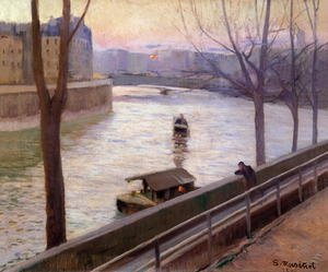 Reproduction oil paintings - Santiago Rusinol i Prats - Ille de Saint Louis, 1890s