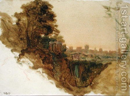 Tivoli by Alexander Runciman - Reproduction Oil Painting