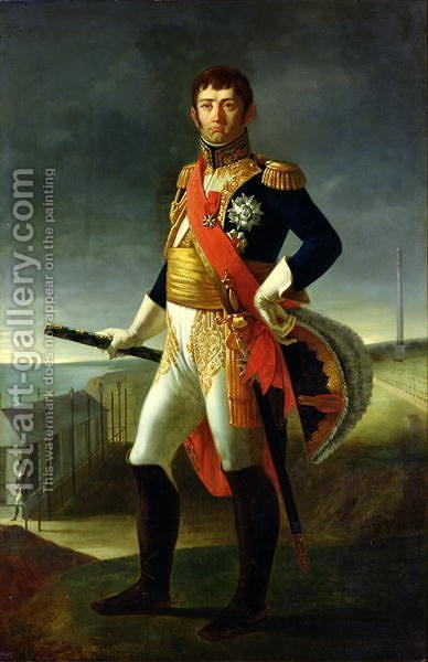 Louis Henri de Rudder: Jean-de-Dieu Soult 1769-1851 Duke of Dalmatia, 1856 - reproduction oil painting