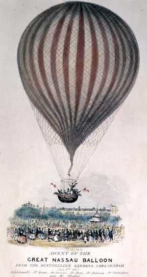 Ascent of the Great Nassau Balloon